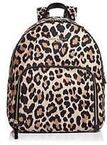 Kate Spade Watson Lane Hartley Leopard Print Nylon Backpack