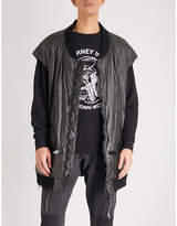 Undercover Graphic-print shell bomber jacket
