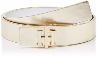 Tommy Hilfiger Women's Th Buckle Reversible 3.0 Belt