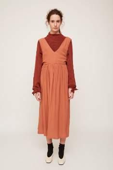 Rita Row rita row - Coral Dress - coral   S . - Coral