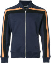 Fred Perry sports bomber jacket with stripe