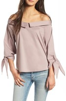 Leith Women's Off The Shoulder Blouse