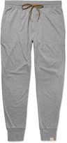 Paul Smith Slim-Fit Tapered Mélange Cotton-Jersey Pyjama Trousers