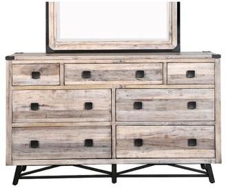 Loon Peak Blaris 7 Drawer Double Dresser
