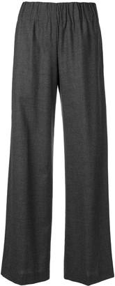 Aspesi Pleated Flared Trousers