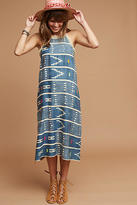 Corey Lynn Calter One-Of-A-Kind Ikat Fringed Dress