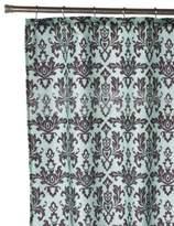 Carnation Home Fashions Damask Fabric Shower Curtain