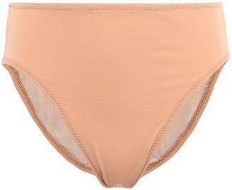 Norma Kamali Underwire High-rise Bikini Briefs