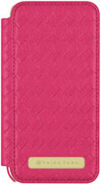 Trina Turk Iphone 7 - Basket Weave Folio Fuchsia