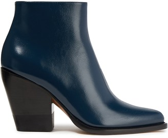 Chloé Serina Leather Ankle Boots