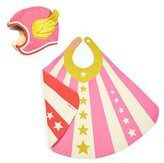 Toddler Lovelane Superhero Hat & Cape Costume Set