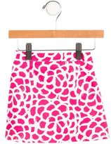 Oscar de la Renta Girls' Printed Skirt