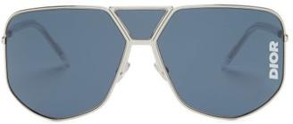 Christian Dior Diorultra Aviator-style Sunglasses - Silver