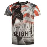Fabric Ny Flag T Shirt Mens