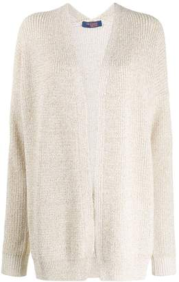 Trussardi Jeans oversized open-front cardigan