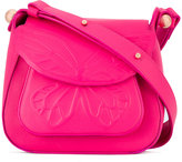 Sophia Webster butterfly embossed shoulder bag - women - Calf Leather/Polyester - One Size