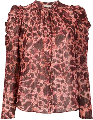Ulla Johnson Adina foliage print blouse
