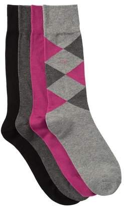 Calvin Klein Assorted Crew Socks - Pack of 4