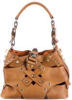Prada Embellished Woven Bag