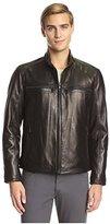 Andrew Marc Men's Bane Moto Leather Jacket