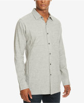 Kenneth Cole New York Men's Two Pocket Heathered Shirt