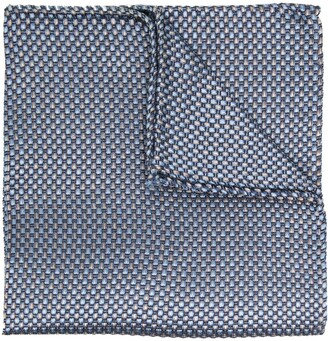 DSQUARED2 Woven Pattern Pocket Square