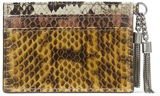 Jimmy Choo Umika fringe-embellished cardholder