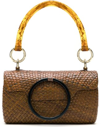 Serpui Marie Straw Hand Bag