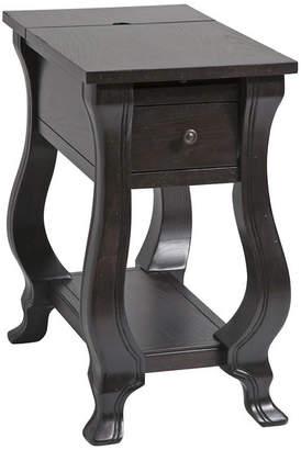 Stein World St. Croix 1-Drawer Chairsider, Espresso