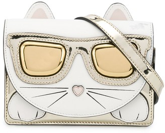 Karl Lagerfeld Paris Choupette shoulder bag