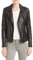 IRO Women's 'Han' Lambskin Leather Moto Jacket