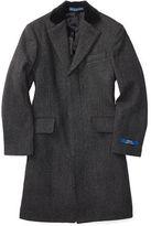 Ralph Lauren Merino Wool Herringbone Coat