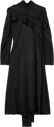 Koché Stretch-jersey Turtleneck Midi Dress