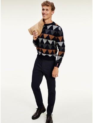 Tommy Hilfiger Modern Argyle Crewneck Sweater