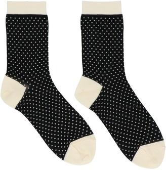 Undercover Polka-Dot Socks