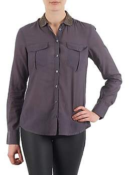 S'Oliver CHEMISTER MANCHES LO women's Shirt in Grey