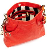Juicy Couture Chain Leather Hobo Crossbody