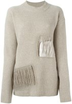 Stella McCartney distressed round neck jumper - women - Cashmere/Wool - 38