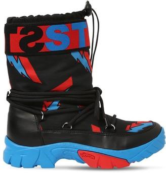 Stella McCartney Kids Thunder Print Nylon Ski Boots