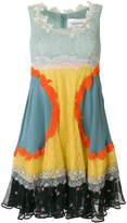 Valentino lace panelled dress