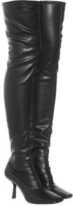 Jimmy Choo Mire 85 over-knee leather boots