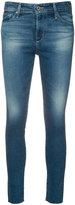 AG Jeans super skinny cropped jeans - women - Cotton/Polyester/Spandex/Elastane - 25