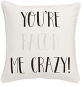 Levtex 'You'Re Bacon Me Crazy' Pillow