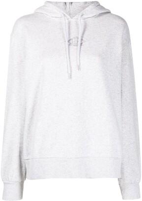 Han Kjobenhavn Logo-Embroidered Organic-Cotton Hoodie