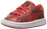 Puma Basket Holiday Glitz Kids Sneaker (Toddler)