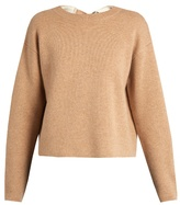 Proenza Schouler Double-faced cashmere-knit self-fastening sweater