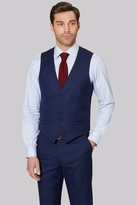 Ted Baker Tailored Fit Navy Two Tone Waistcoat
