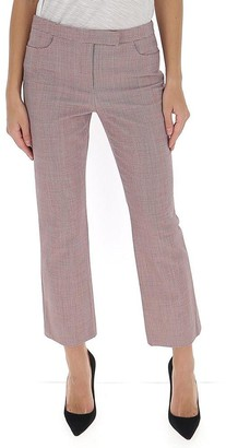 Theory Cropped Houndstooth Trousers