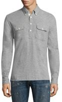 Polo Ralph Lauren Uneven Cotton Shirt
