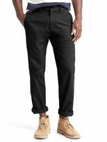 Gap Classic stretch straight fit khakis
